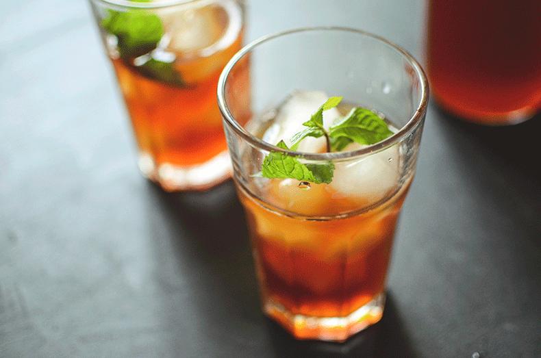 Best orange iced tea recipe from Dolly's tea shop