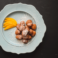 Aamer bora (sweet mango fritters)