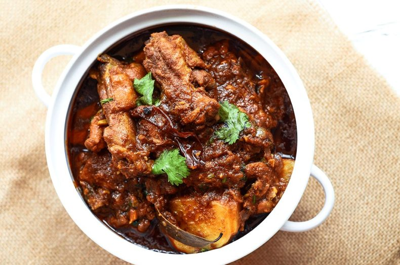 Authentic chicken curry recipe