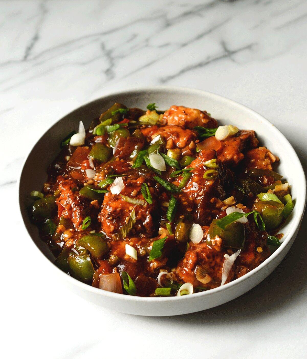 Restaurant Style Chili Chicken Gravy Not A Curry