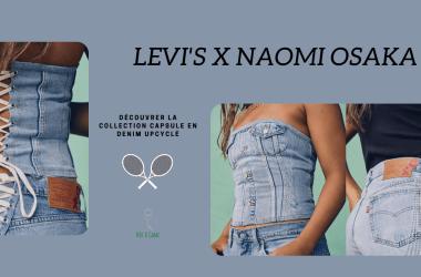 Bannière Naomi Osaka Levis