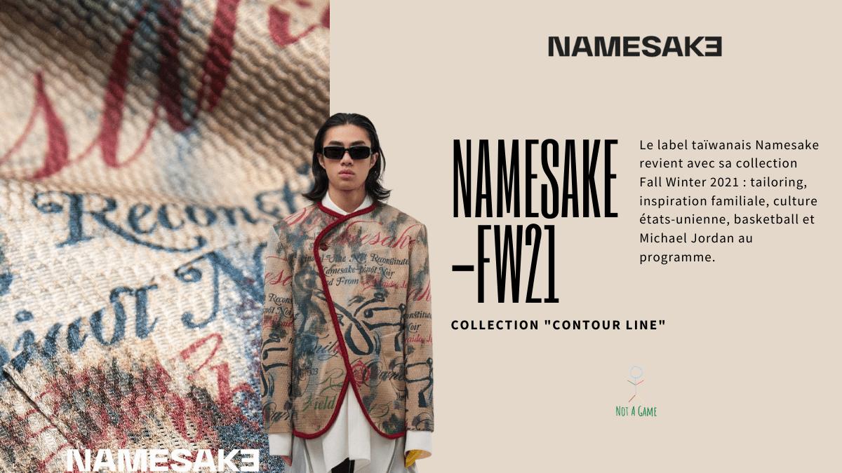 NAMESAKE FW21, entre héritage familial et streetwear des 90s