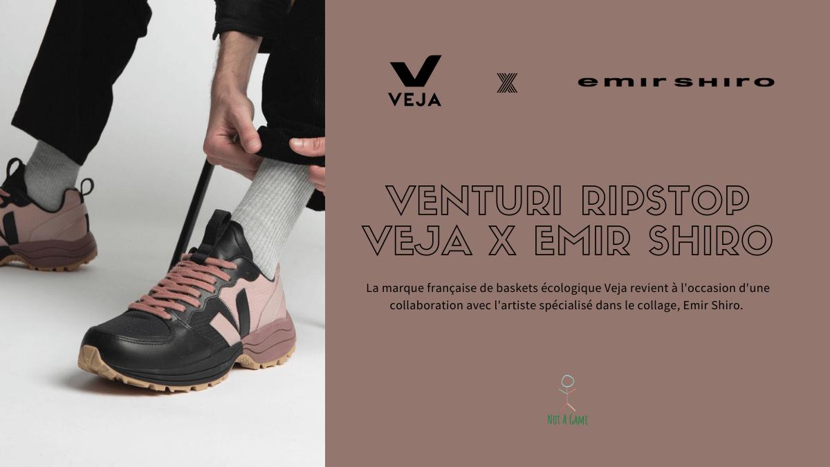 Venturi Ripstop Veja x Emir Shiro, une collaboration réussie