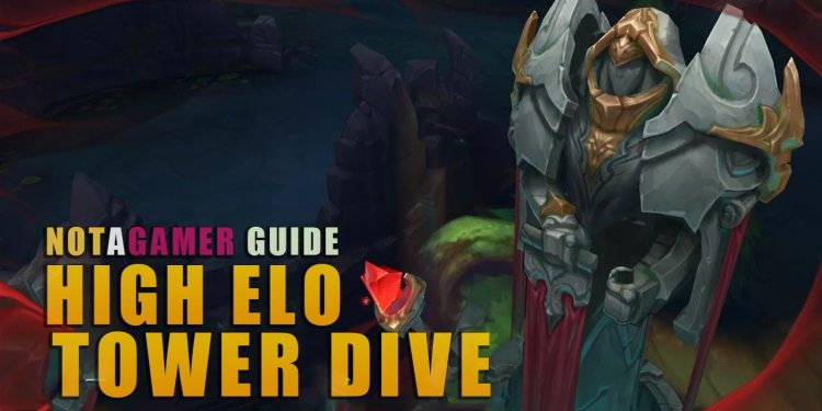 How to TOWER DIVING like high ELO players Part 1 1
