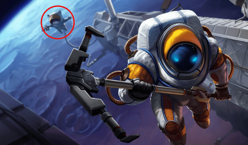Easter eggs behind League of Legends splash arts that you might have missed. 5