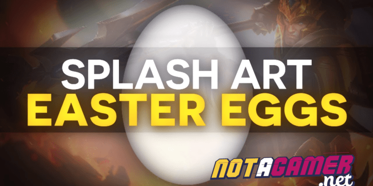 Easter eggs behind League of Legends splash arts that you might have missed. 1