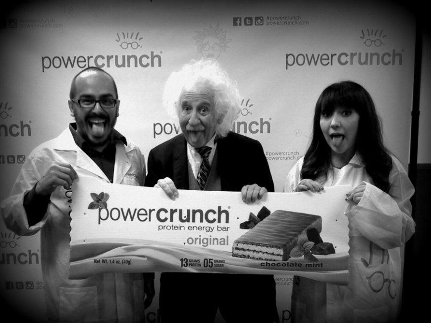 We found the Einstein of Protein at Powercrunch
