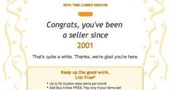 11 years as an eBay seller
