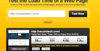 Two easy ways to check your website's loading time