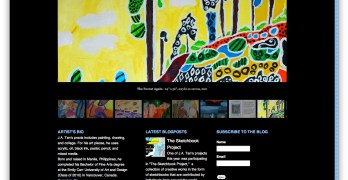 Website Review: Art of JA Tan. A story of Art and Autism