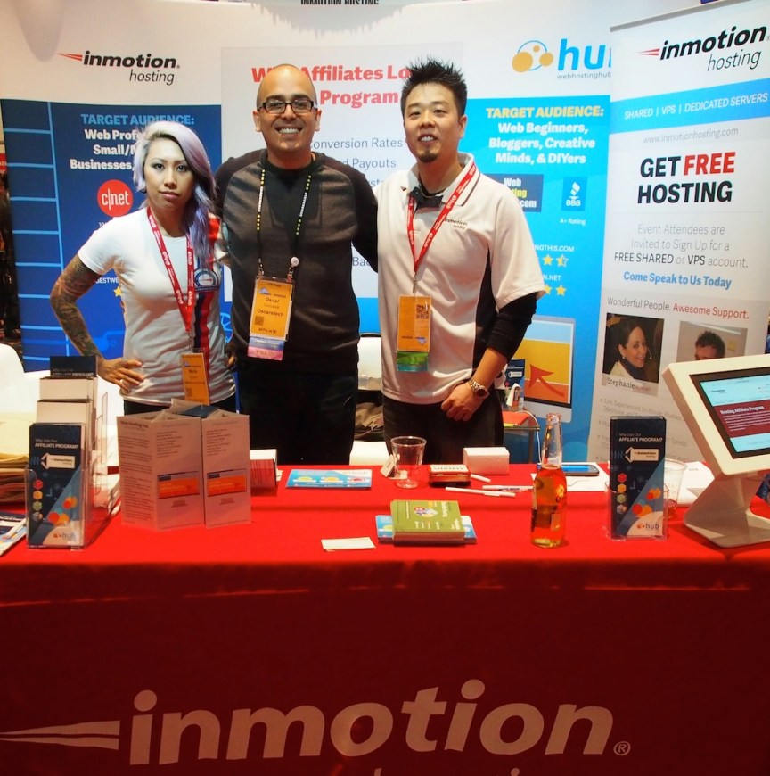 The guys that make the magic happen with Inmotion's Affiliate Program