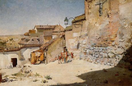 """Sunny Spain"" by William Merritt Chase"