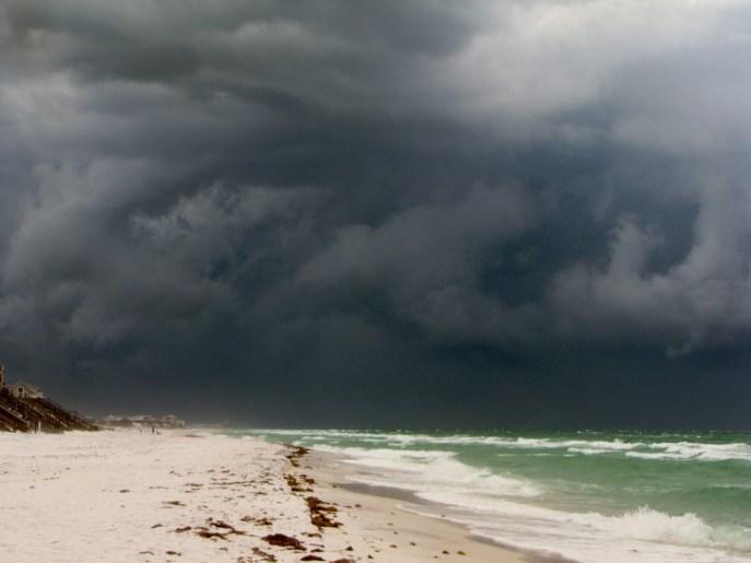 Blue Mountain Florida - Storm Coming