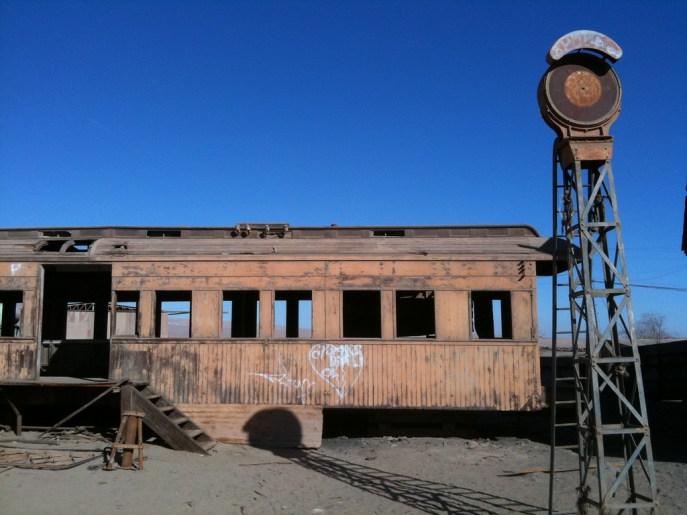 Converted Train Car - Abandoned