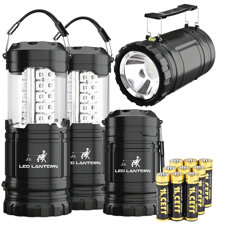 MalloMe 2-IN-1 LED Camping Lantern & Flashlight