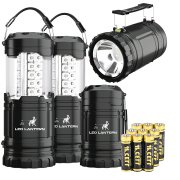 MalloMe 2-IN-1 LED Camping Lantern & Flashlight