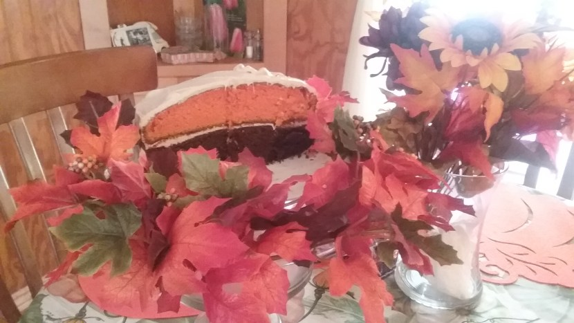 Maple Fall Festival Cake