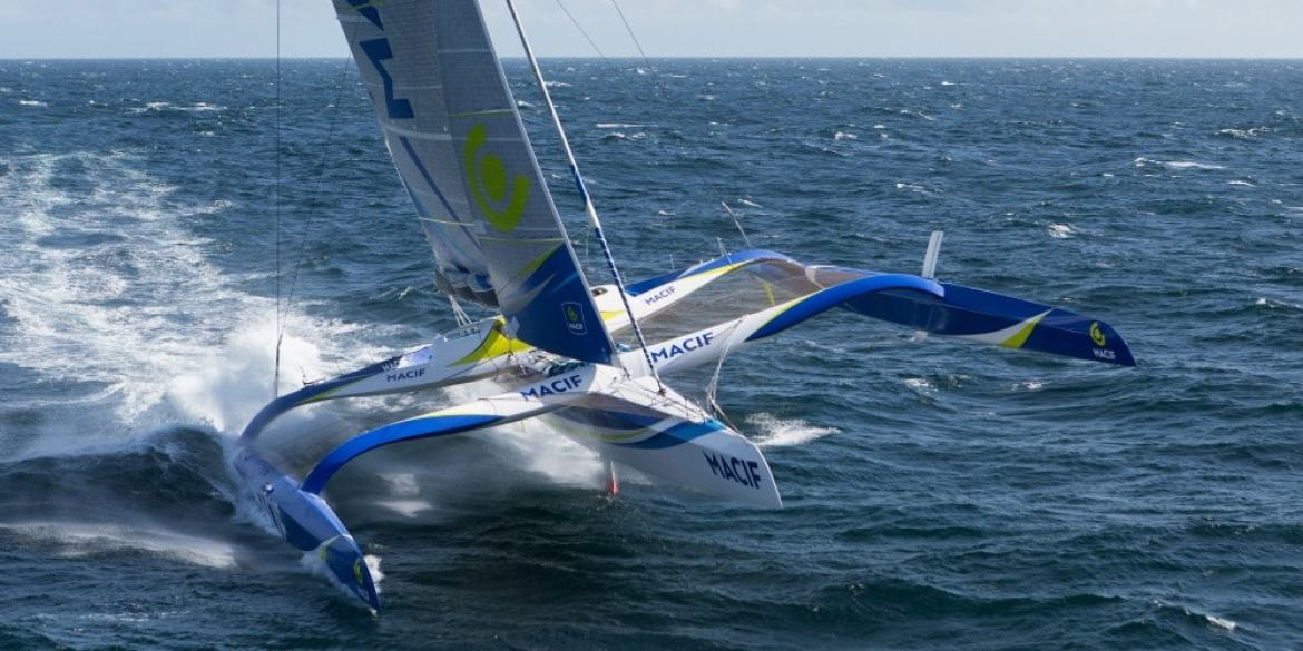 MACIF, the giant trimaran designed to shatter world records