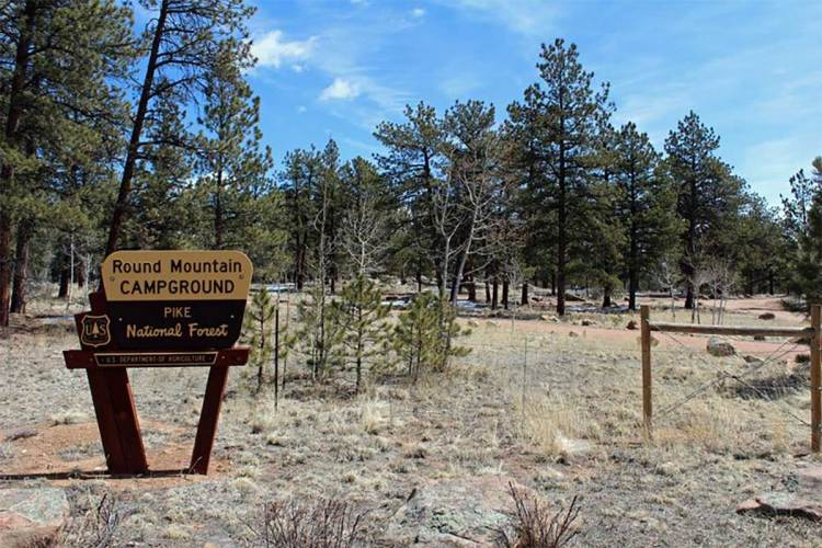 Round Mountain Campground – Pike National Forest