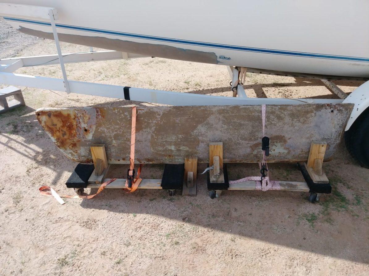 Swing Keel for the Laguna Windrose 22 MK1 Sailboat