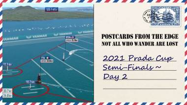 2021 Prada Cup Semi-Finals ~ Day 2