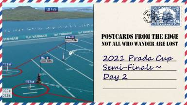 2021 Prada Cup Semi-Finals ~ Day 2