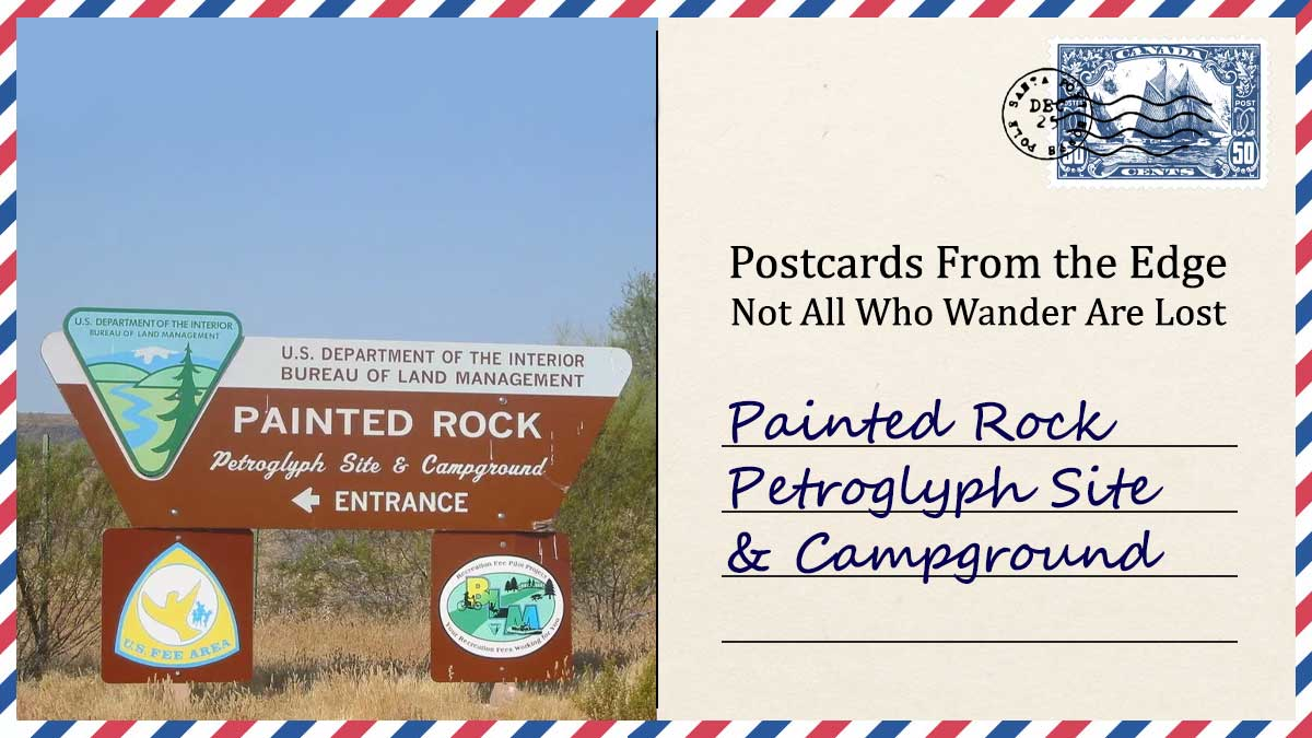 Painted Rock Petroglyph Site and Campground