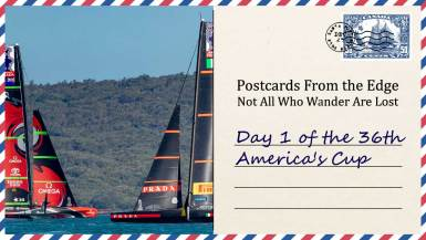 Day 1 of the 36th America's Cup