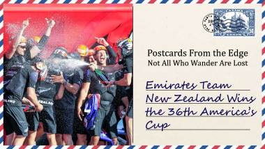 Emirates Team New Zealand Wins the 36th America's Cup