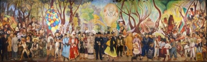 Sueno-de-una-tarde-Dominical-en-la-Alameda-1947