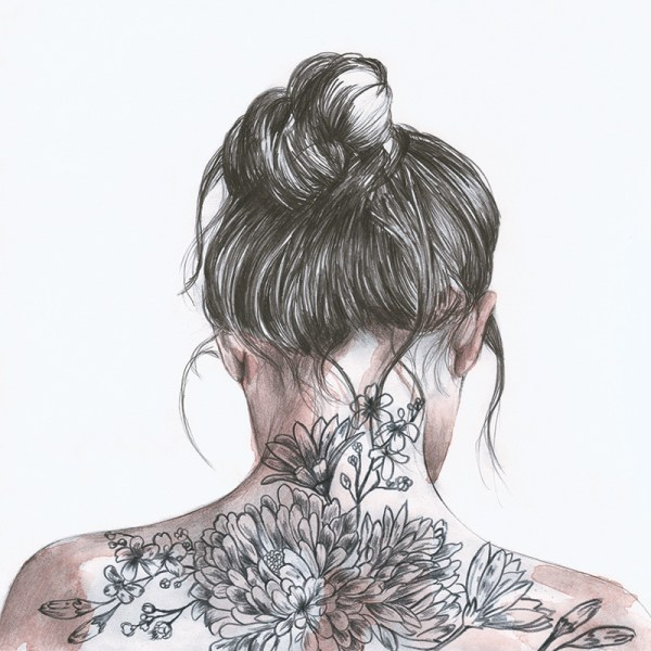 Crisbel-Robles - FLORAL TATTOO
