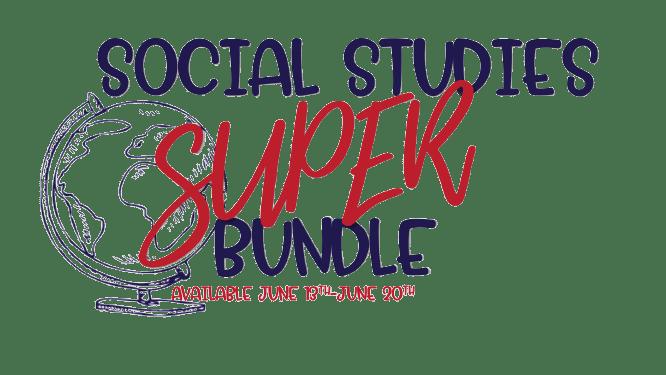 social studies bundle sale