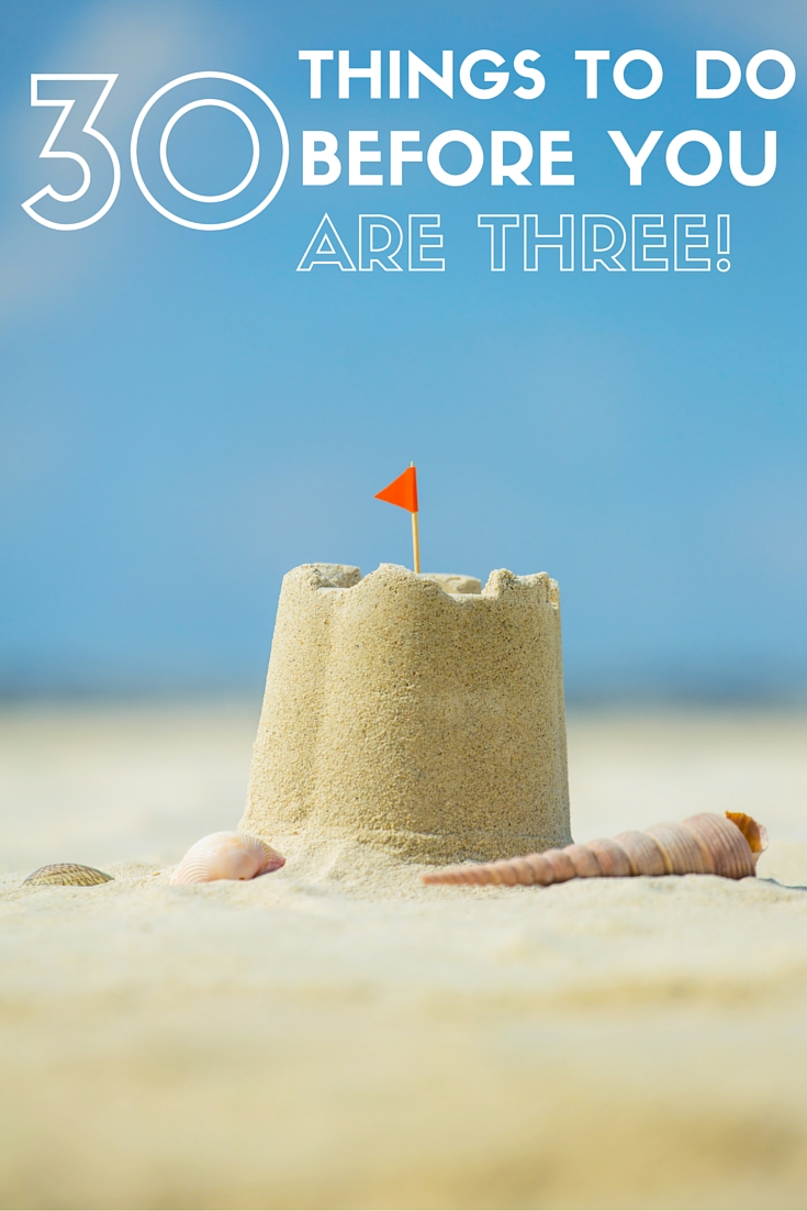 The ultimate list of activities for under 3s!