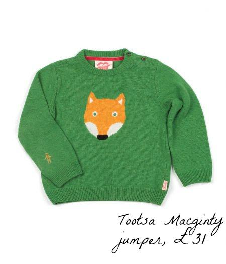 Tootsa Macginty, Tootsa Maginty, fox jumper, Fearne Cotton