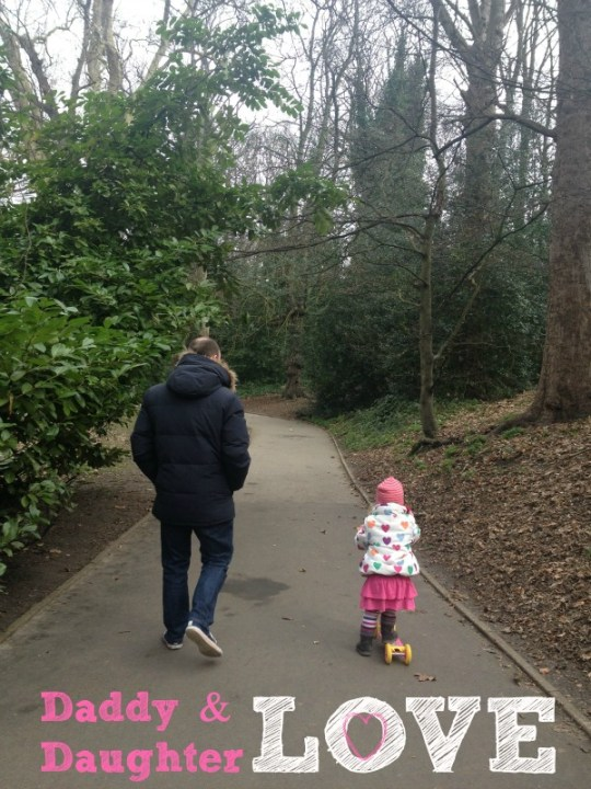 Daddy & Daughter, Kelsey Park