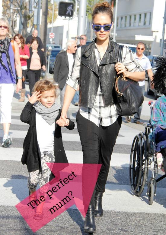 Jessica Alba, perfect mum