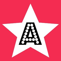 A in a star