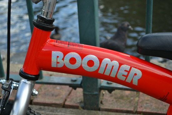 Boomer balance bike for kids