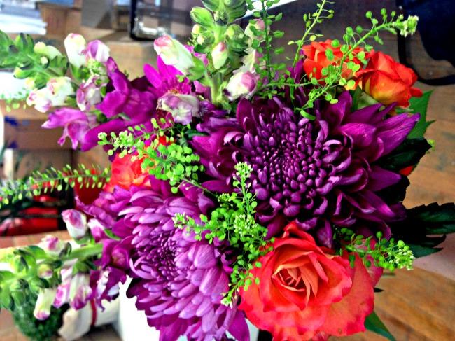 Moonpig flower bouquet
