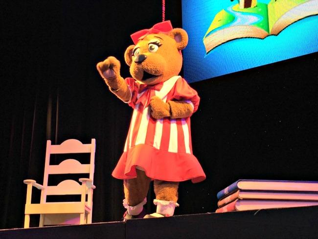 Bonnie Bear at Butlins