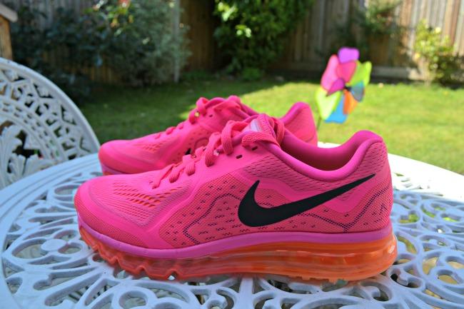 Pink Nike Air