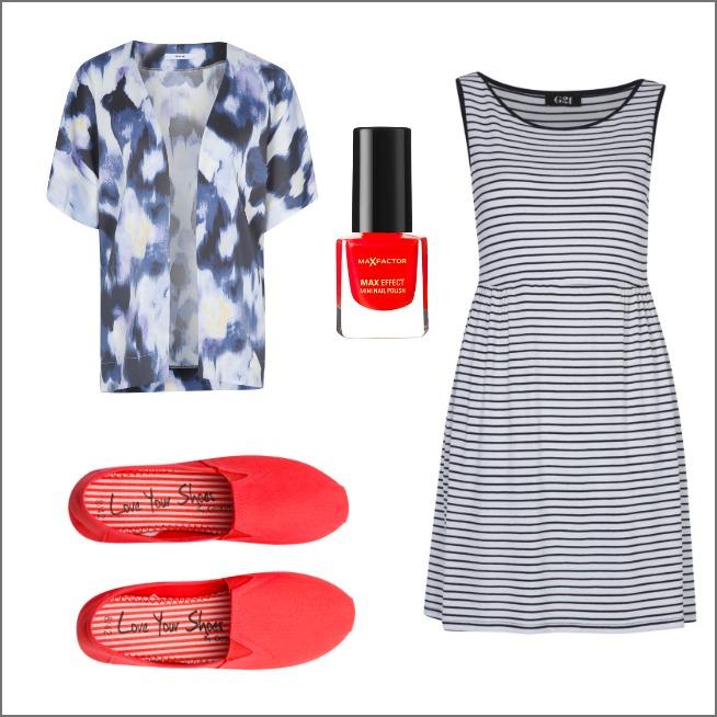 Striped summer dress - George at Asda