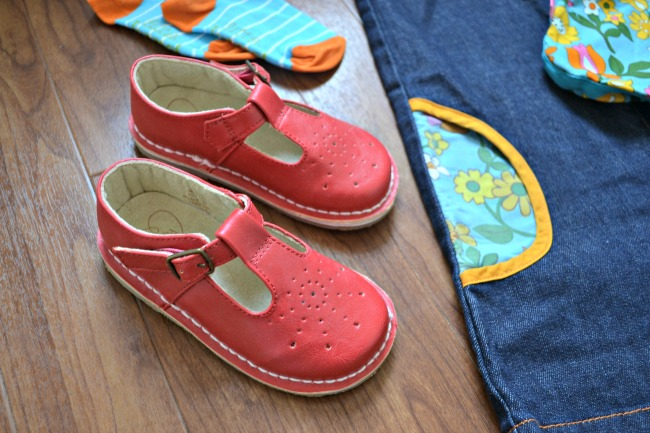 Retro red shoes from Little Bird By Jools