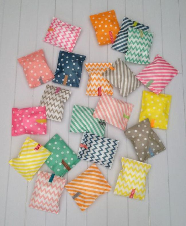 Gorgeous party bags from Petra Boase