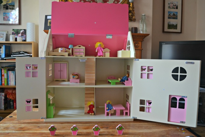 George at Asda wooden dolls house