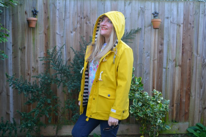 Yellow Joules jacket