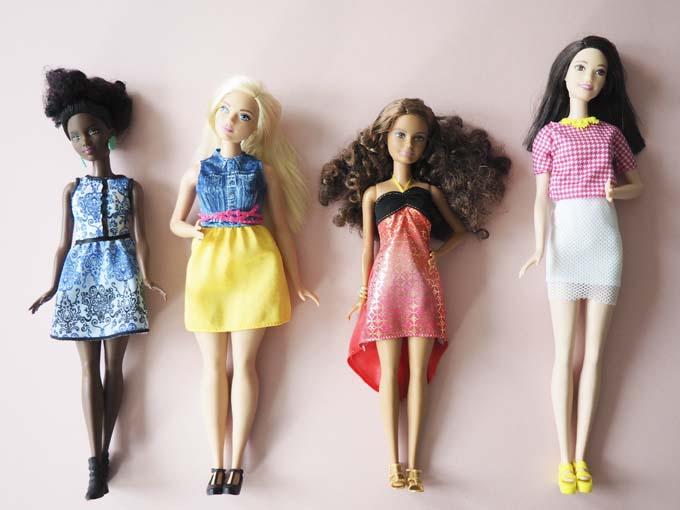 New Barbie shape - curvy, tall, petite