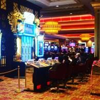 The casino in The Parisian
