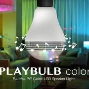 PLAYBULB color - Bluetooth Color LED Speaker Light