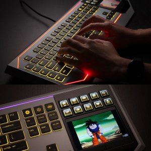 Star Wars Keyboard With LCD Touchpad - 1